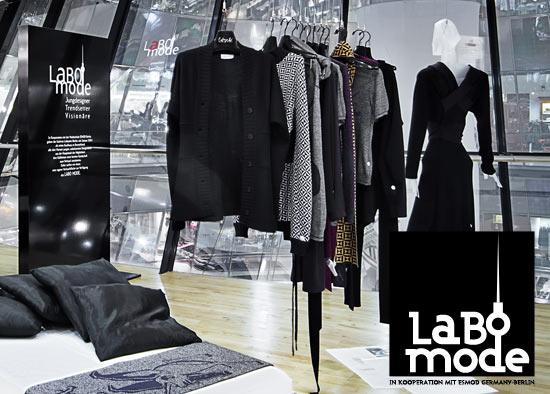 LABO MODE - Jungdesigner in den Galeries Lafayette Berlin