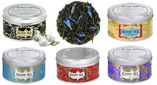 Kusmi Tea bei Lafayette Gourmet in der Epicerie