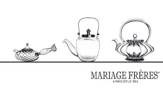 Mariage Frères: Tee-Zubehör bei Galeries Lafayette Berlin