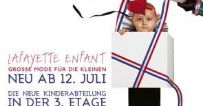 Neu ab 12. Juli: LAFAYETTE ENFANT – große Mode für die Kleinen