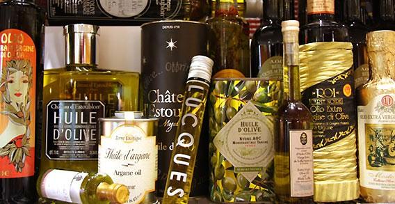 Exklusive Öle im Lafayette Gourmet Berlin