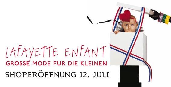 Lafayette Enfant - Die Kindermodeabteilung der Galeries Lafayette Berlin