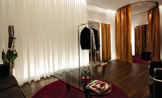 Personal Shopper Raum in den Galeries Lafayette Berlin