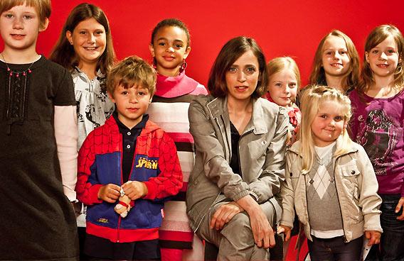 Anna Thalbach beim Kinderfest in den Galeries Lafayette Berlin 2010