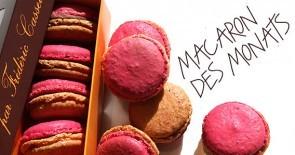 Eine Verführung in Feige, Himbeere und Zimt: der Macaron des Monats!