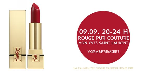 Rouge Pur Couture von Yves Saint Laurent bei Galeries Lafayette Berlin