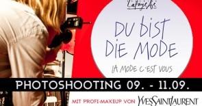 Heute bis Samstag: Mach mit beim Fotoshooting für das Style Casting www.dubistdiemode.de!
