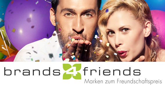 brands4friends - Partner bei DU BIST DIE MODE! der Galeries Lafayette Berlin