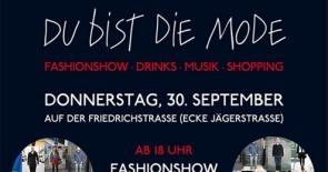 Großes Streetstyle-Mode-Event auf der Friedrichstraße