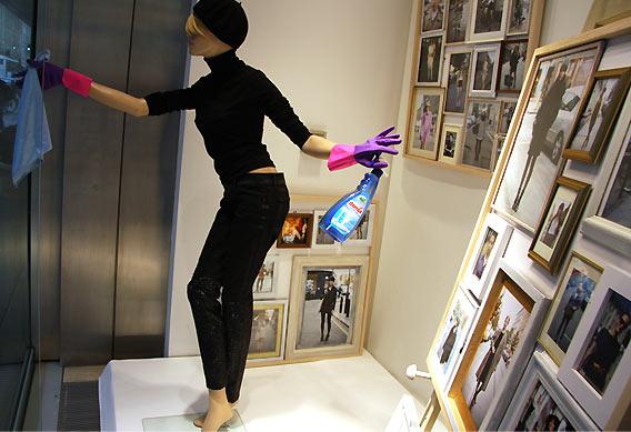 glamcanyon Fenster für Du bist die Mode! der Galeries Lafayette Berlin