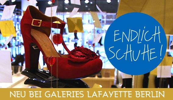 Lafayette Chaussures - die Schuhabteilung in den Galeries Lafayette Berlin