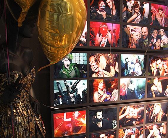 Schaufenster von iHeartBerlin zu DU BIST DIE MODE der Galeries Lafayette Berlin