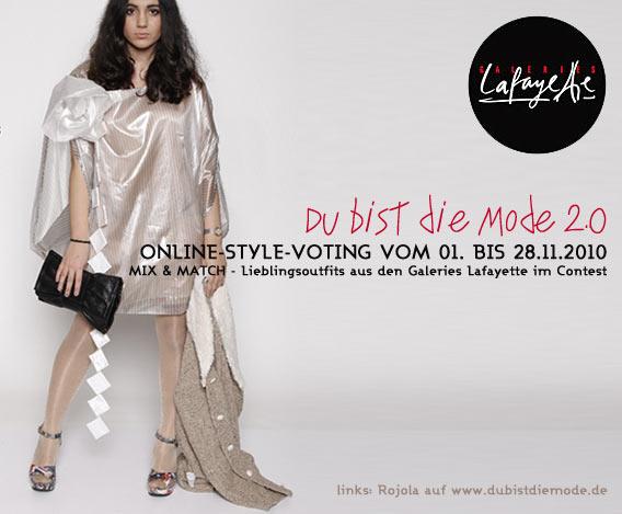 Du bist die Mode! 2.0 - neuer Style-Contest auf www.dubistdiemode.de