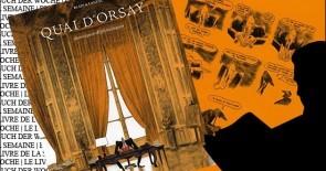 """""""Quai d'Orsay, chroniques diplomatiques"""" de Christophe Blain et Abel Lanzac"""