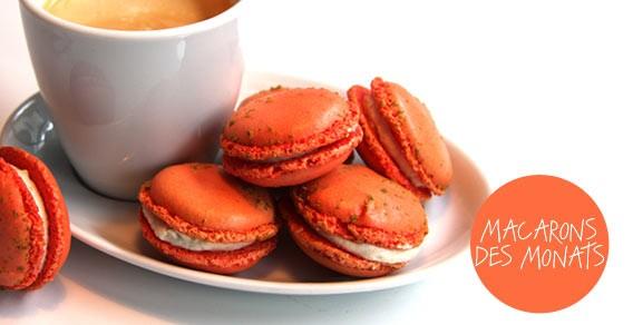 Macaron des Monats 02.2011 von Frédéric Cassel im Lafayette Gourmet, Berlin