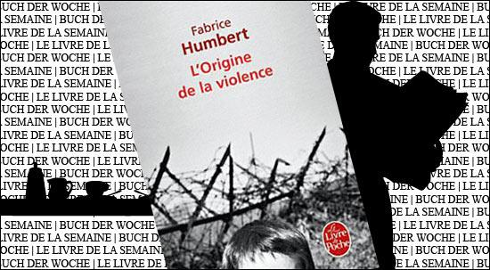 """Buchtipp: """"L'origine de la violence"""" von Fabrice Humbert der französischen Buchhandlung in den Galeries Lafayette Berlin"""