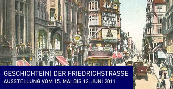 Geschichte(n) der Friedrichstraße - Ausstellung der Galeries Lafayette Berlin