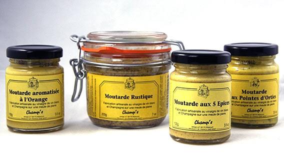 Senf von Champ's in der Epicerie des Lafayette Gourmet Berlin