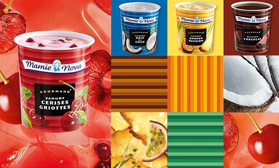 Die Joghurts von Mamie Nova im Lafayette Gourmet Berlin