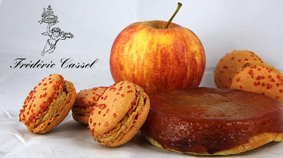 Macaron des Monats von Frédéric Cassel, exklusiv bei Lafayette Gourmet Berlin