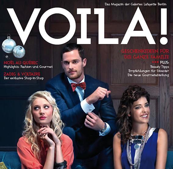 VOILA! Das Magazin der Galeries Lafayette Berlin - Winter 2011/2012