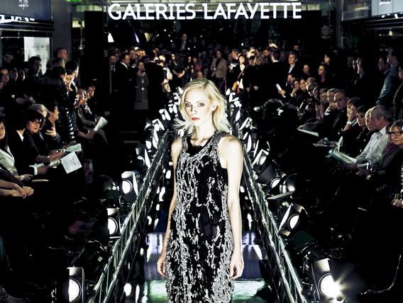 So war NOEL AU QUEBEC in den Galeries Lafayette Berlin
