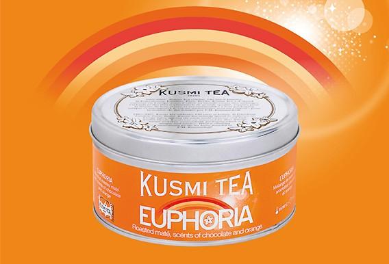 Für reine Glücksmomente: Euphoria von Kusmi Tea bei Lafayette Gourmet Berlin