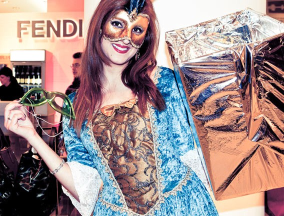 Carnaval d'amour Shoppingnacht in den Galeries Lafayette Berlin