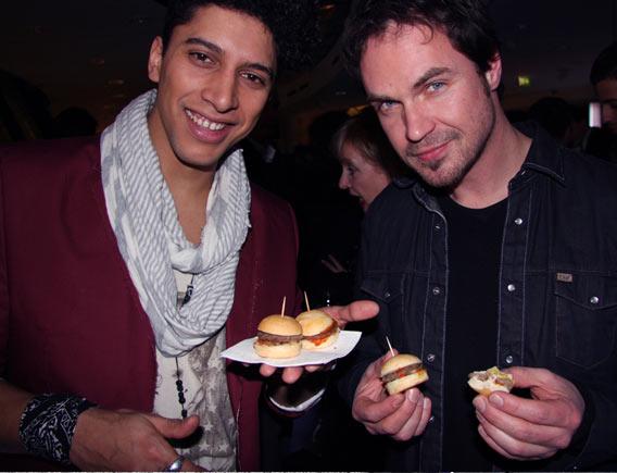 Michael Kors Menswear Opening Event in den Galeries Lafayette Berlin mit Andreas Bourani