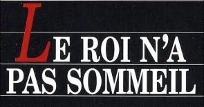 """Buchtipp zum Wochenende: """"Le roi n'a pas sommeil"""" von Cécile Coulon"""