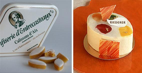Calissons, Konfekt aus Frankreich im Lafayette Gourmet Berlin