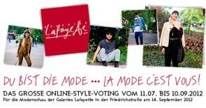 Mach mit beim Style-Casting-Contest DU BIST DIE MODE und gewinne!