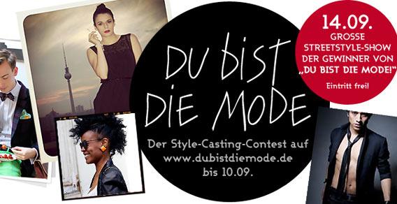 Du bist die Mode - La mode c'est vous! - 2012 - Galeries Lafayette Berlin