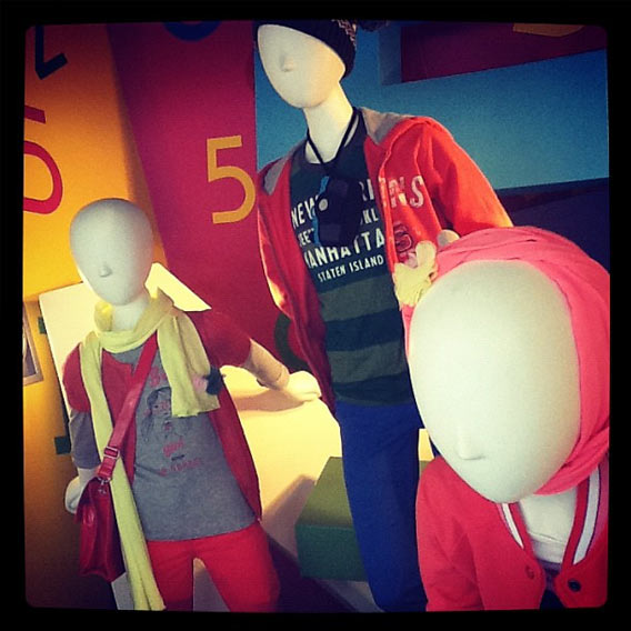 Kindermode in den Galeries Lafayette Berlin