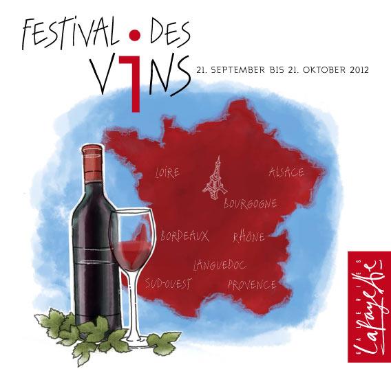 Festival des Vins Herbst 2012 im Lafayette Gourmet Berlin