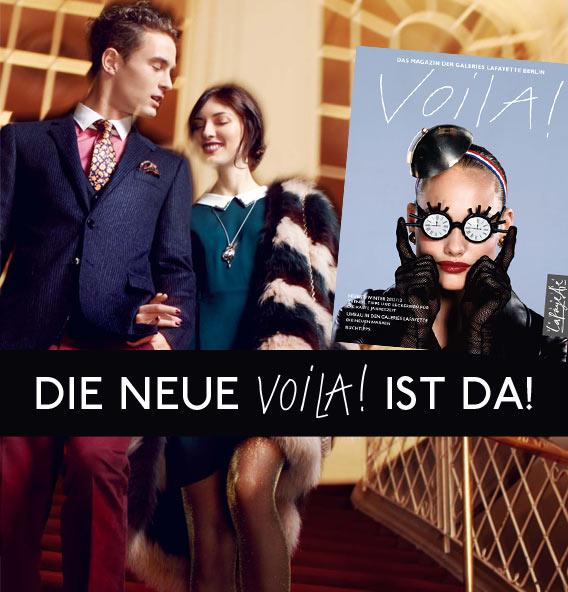 VOILA! Das Magazin der Galeries Lafayette Berlin – Herbst/Winter 2012/2013