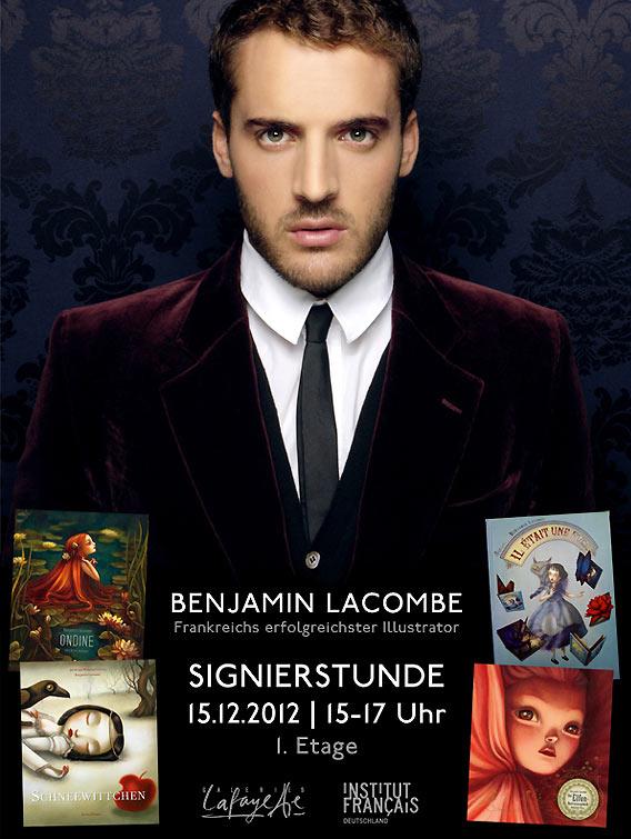 Signierstunde mit Benjamin Lacombe bei Galeries Lafayette Berlin