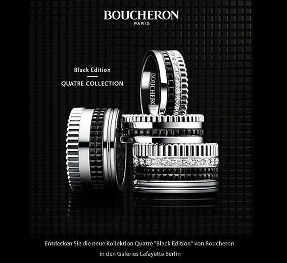 Boucheron - in Deutschland exklusiv bei Galeries Lafayette