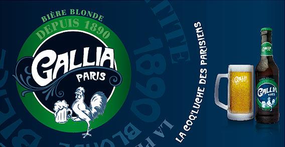 Bière GALLIA Paris - der echte Geschmack des Bieres im Lafayette Gourmet Berlin