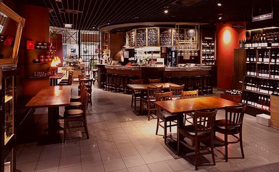La Cave à Vins – Das Weinkeller-Restaurant im Lafayette Gourmet Berlin