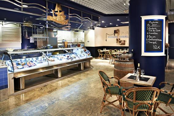 Passion Poisson, Fischtheke und Fischrestaurant | Lafayette Gourmet Berlin