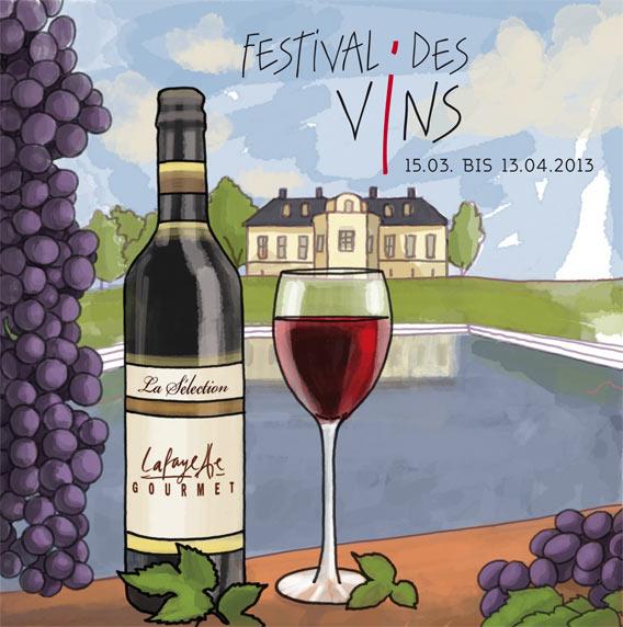 Festival des Vins - das Weinfestival im Lafayette Gourmet Berlin