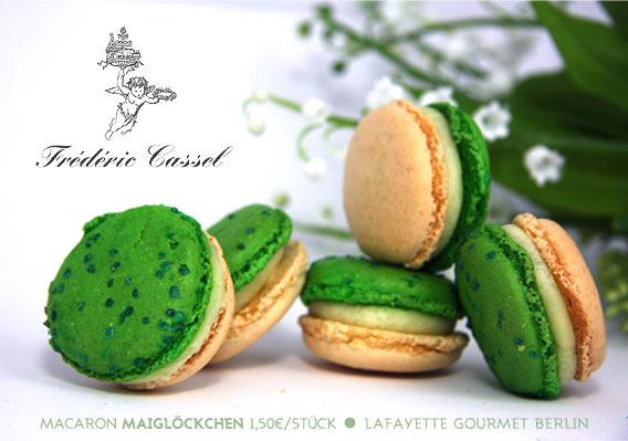 Macaron des Monats Mai 2013 von Frédéric Cassel | Lafayette Gourmet Berlin