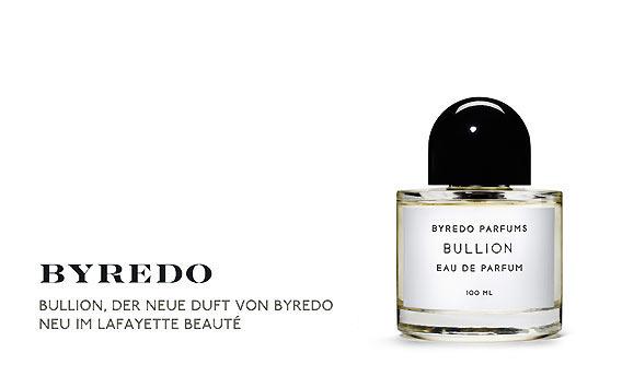 Bullion, der neue Duft von Byredo bei Galeries Lafayette Berlin