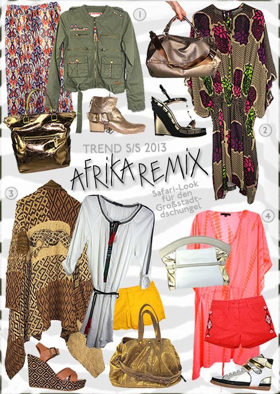 Trend S/S 2013 Afrika Remix | Galeries Lafayette Berlin