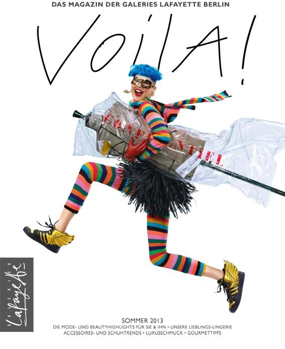 VOILA! Das Magazin der Galeries Lafayette Berlin | Sommer 2013