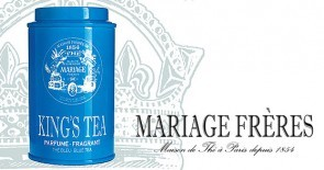 King for a day – or for a cup of tea: Der KING'S TEA von Mariage Frères zum Fête des pères (Father's Day)