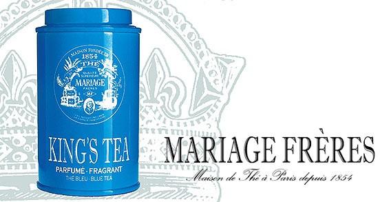 KING'S TEA von Mariage Frères | Exklusiv bei Lafayette Gourmet Berlin