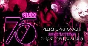 "PEEP SHOPPINGNACHT mit DISCO FEVER im ""STUDIO 76"""