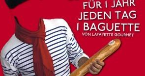 Wir suchen: Madame / Monsieur Baguette 2013 !